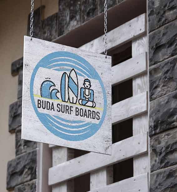 Buda-Hanging-Wall-Sign